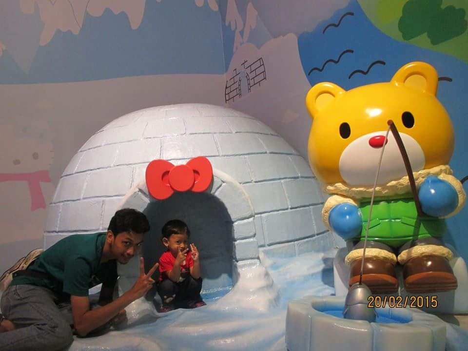 Rumah Igloo Hello Kitty