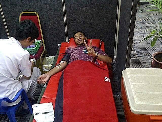 donor pertama kali