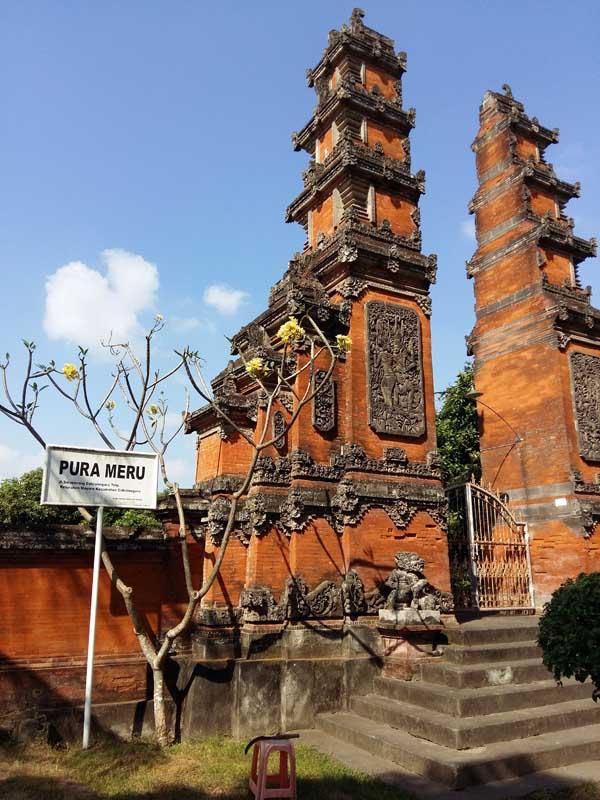 Pura Meru lombok